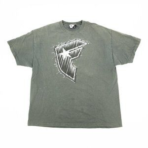 Famous Stars & Straps Shirt Graphic Crew Gray 2XL